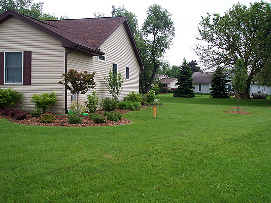 Landscape design landscaping design saline michigan mi for Landscape design michigan