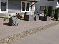 Evans Lake Paver Project